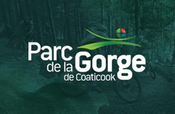 Vélo de montage du Parc de la Gorge de Coaticook - Client profitant de notre plateforme multi-commerces sur aCoaticook